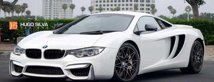 BMW McLaren supercar